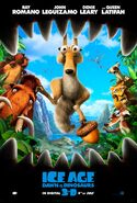 Ice Age Dawn of the Dinosaurs theatrical poster