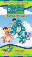 Dragon Tales Big Brave Adventures 2000 VHS
