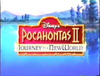Video trailer Pocahontas II Journey to a New World.jpg