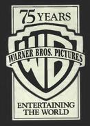 Warner Bros logo 1998 75 Years