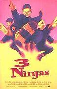 Three ninjas poster