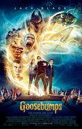 Goosebumps (film) poster
