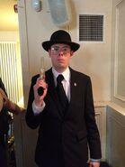 Nazi gun holding