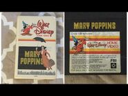 Opening & Closing to Mary Poppins 1980 VHS -True HQ-