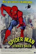 Poster of Spider-Man Strikes Back