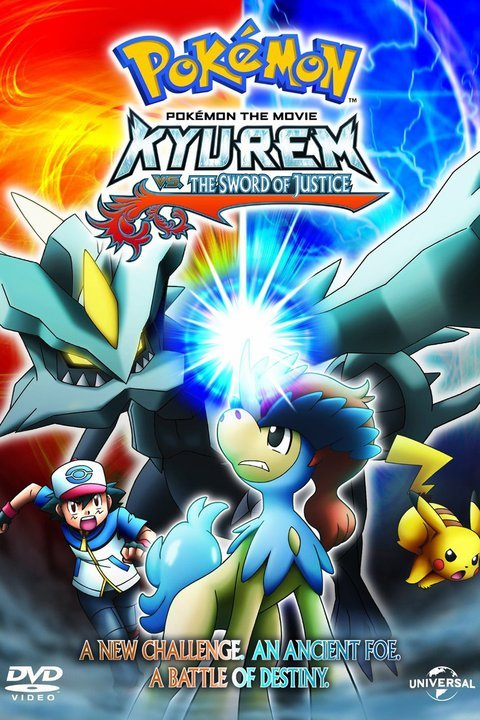 Pokémon - Kyurem vs. the Sword of Justice