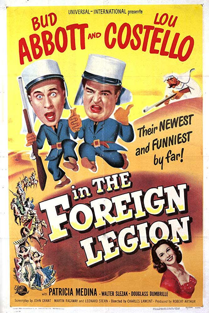 Abbott and Costello in the Foreign Legion