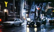 Batman Returns set
