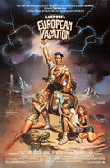 National Lampoon's European Vacation 1985 Poster