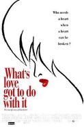 Whats love got to do with it poster