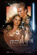 Star Wars - Episode II - Attack of the Clones 2002 Poster