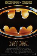Batman (1989) theatrical poster