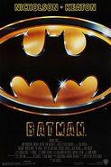 Batman (1989) theatrical poster