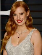 Jessica-chastain-at-vanity-fair-oscar-party-in-hollywood 1