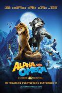 Alpha & Omega (2010) Movie Poster