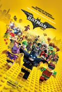 The Lego Batman Movie PromotionalPoster