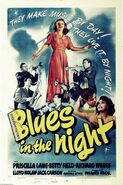 Blues in the Night poster