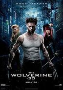 The Wolverine posterUS