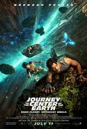 Journey to the Center of the Earth 2008 Theatrical Poster