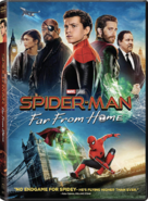 Spider Man Far From Home 2019 DVD