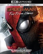 Spider Man Far From Home 4K Steelbook