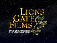LionsGate Films Home Entertainment (1999)
