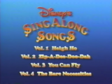 Disney's Sing-Along Songs: I Love to Laugh/Home media