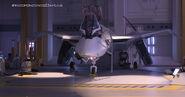 Resurgence Human-Alien-hybridtech-fighter 001
