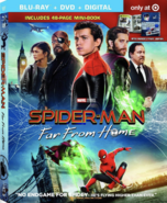 Spider Man Far From Home 2019 Target Exclusive Blu-ray
