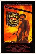 High Plains Drifter 1973 Poster