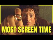 THE LORD OF THE RINGS Characters Screen Time