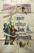 Abbott & Costello Jack and the Beanstalk poster