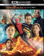 Spider Man Far From Home 4K Exclusive Steelbook