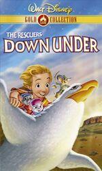 RescuersDownUnder GoldCollection VHS.jpg