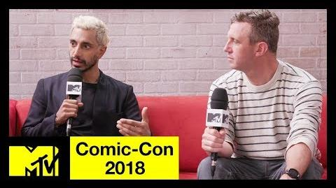 'Venom' Star Riz Ahmed & Ruben Fleischer on Tom Hardy & Anti-Heroes Comic-Con 2018 MTV