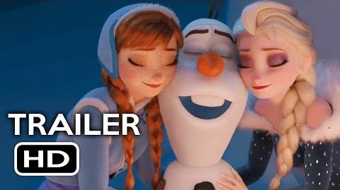 Olaf's Frozen Adventure Short Film Official Trailer 1 (2017) Animated Movie HD