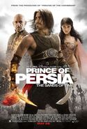 Prince of Persia - The Sands of Time 2010 Poster