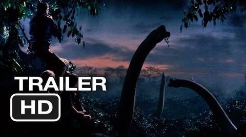 Jurassic Park 3D Official Trailer (2013) - Steven Spielberg Movie HD