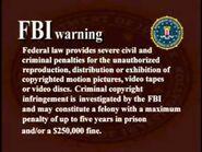 Platinum Disc Corporation FBI Warning