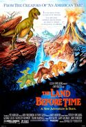 The Land Before Time 1988poster
