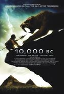 10,000 BC 2008 Poster