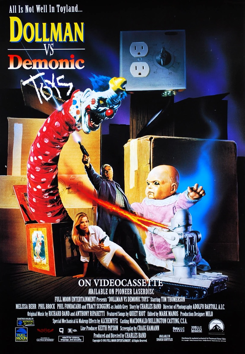 The Dollman vs. The Demonic Toys
