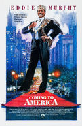 Coming to America 1988 Poster