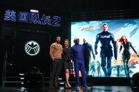 Captain America Winter Soldier Beijing Fan Event2