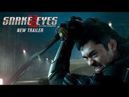 "Snake Eyes NEW Trailer - ""Behind The Mask"" (2021 Movie) - Henry Golding, G.I"