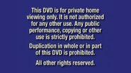 Disney Navy Blue Warning (2000)