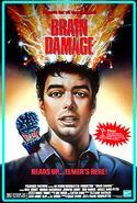 Brain Damage 1988 Poster