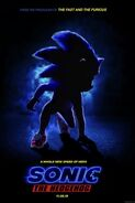 Sonic Movie Teaser Poster