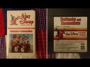 Opening & Closing to Bedknobs and Broomsticks 1980 VHS -True HQ-