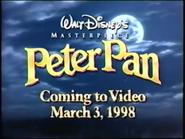 Peter Pan 1998 VHS Trailer